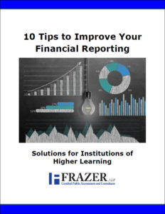 Higher learning improve your financial reporting